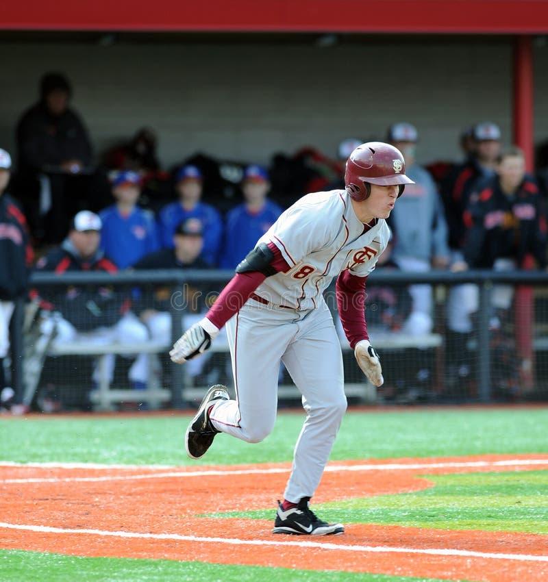 Seth Miller - Staat Florida-Baseball-Spieler stockfotos