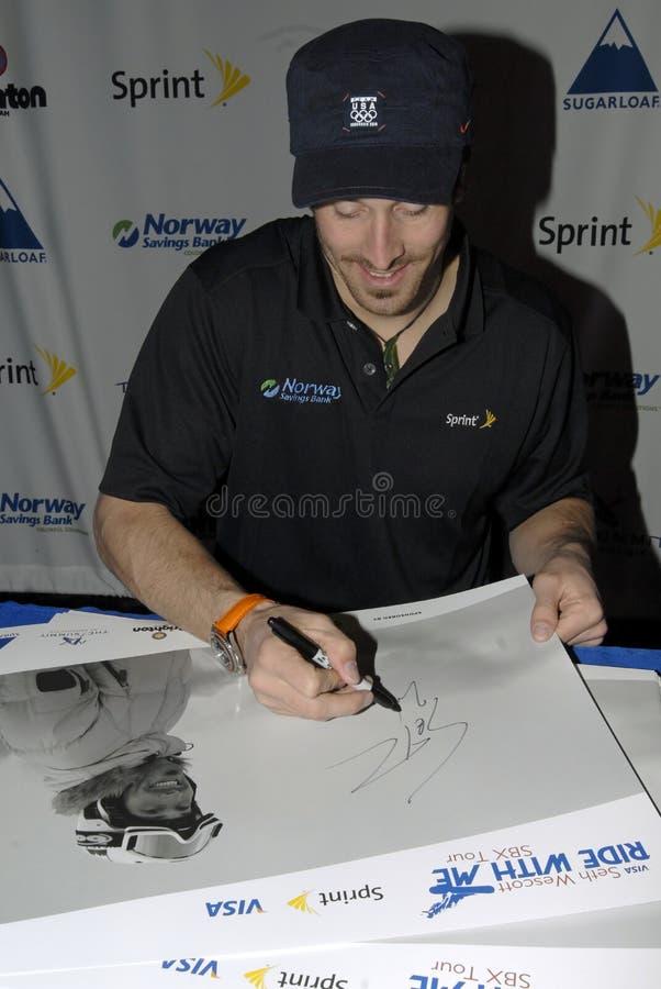 Download Seth Wescott Siging Autograph Editorial Image - Image: 13316310