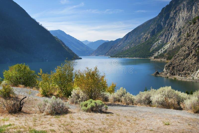 Seton jezioro zdjęcie royalty free