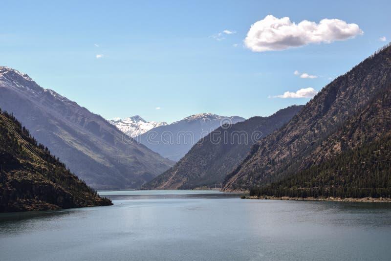 Seton jezioro, BC, Kanada zdjęcia royalty free