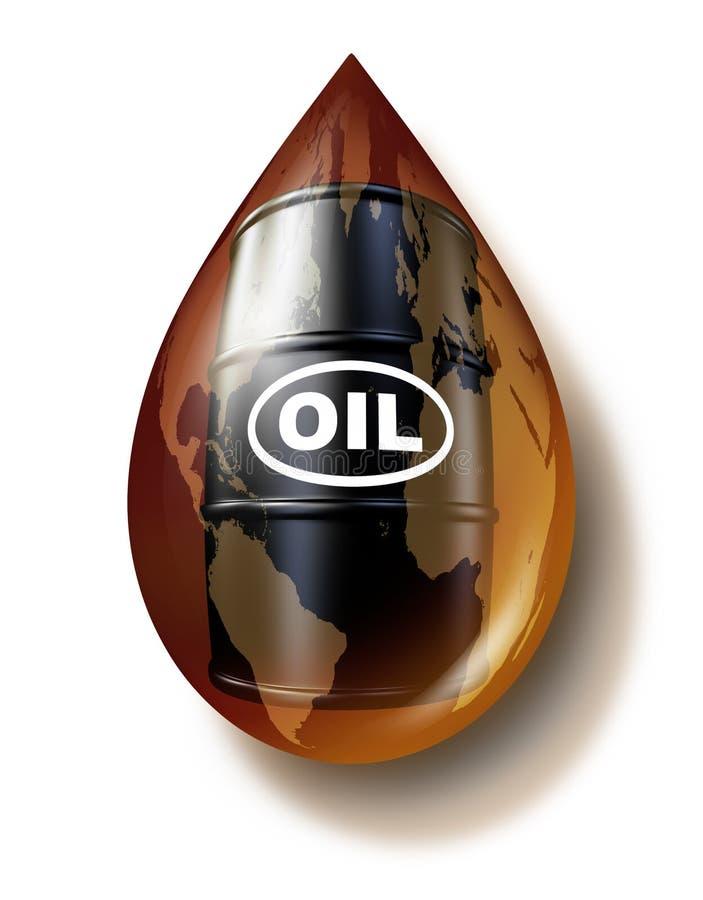 Setor petroleiro ilustração royalty free