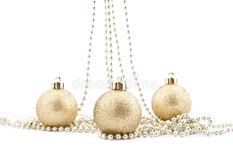 Download Sets Of Shining Christmas-tree Decorations Stock Image - Image: 11789145