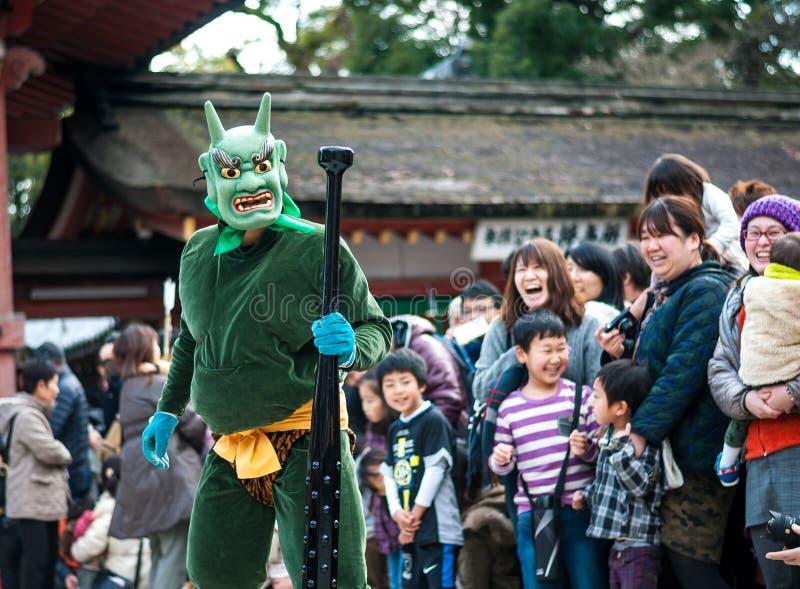 Setsubun photographie stock libre de droits
