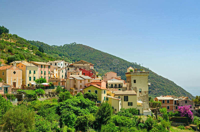 Setta (Framura), Cinque Terre, Italy royalty free stock photos