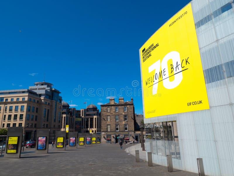 settantesimo festival dell'internazionale di Edimburgo fotografia stock libera da diritti
