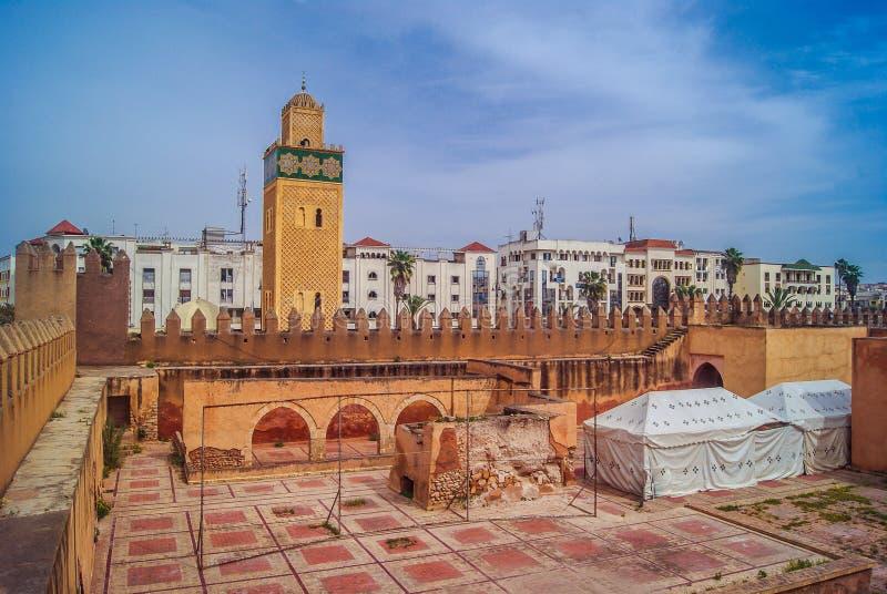 Settat stary centrum miasta obrazy stock