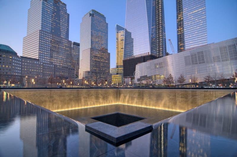 11 settembre memoriale fotografie stock