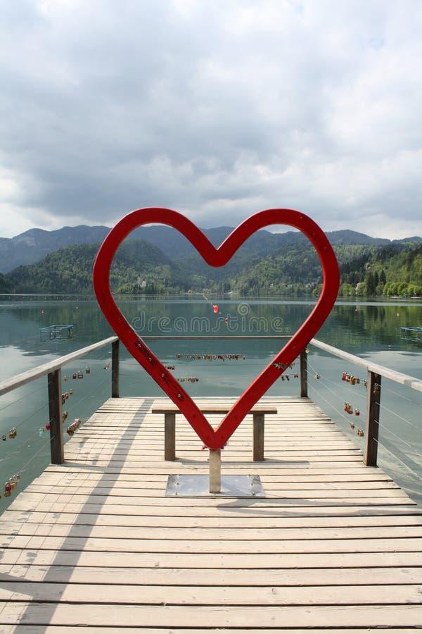 26 settembre, mercoledì, 2018 Il lago ha sanguinato slovenia Alpi di Julian immagini stock libere da diritti