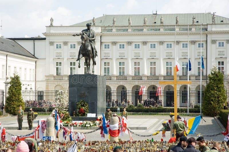 Settimana di dolore in Polonia fotografia stock
