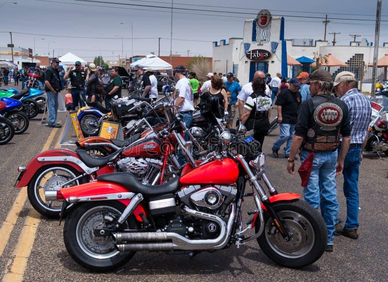 Settimana Harleys della bici fotografia stock