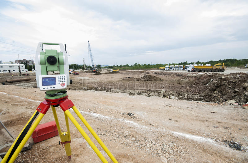 Download Setting Out On Construction Stock Photo - Image: 32150628