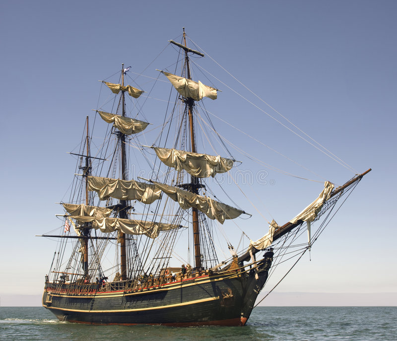 Download Setting Sail stock image. Image of wooden, transportation - 7591763