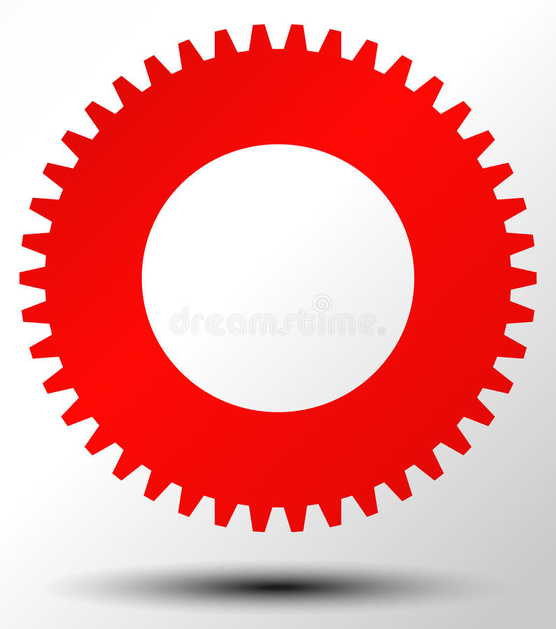 Settings, configuration, maintance, service or repair, development concept icon with gear symbol. Royalty free vector illustration vector illustration