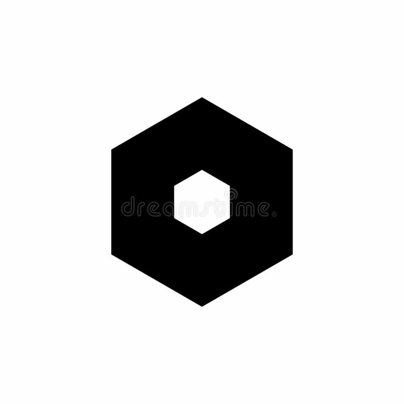 Settings icon in trendy flat style isolated on white background. Settings symbol. Vector illustration. royalty free illustration