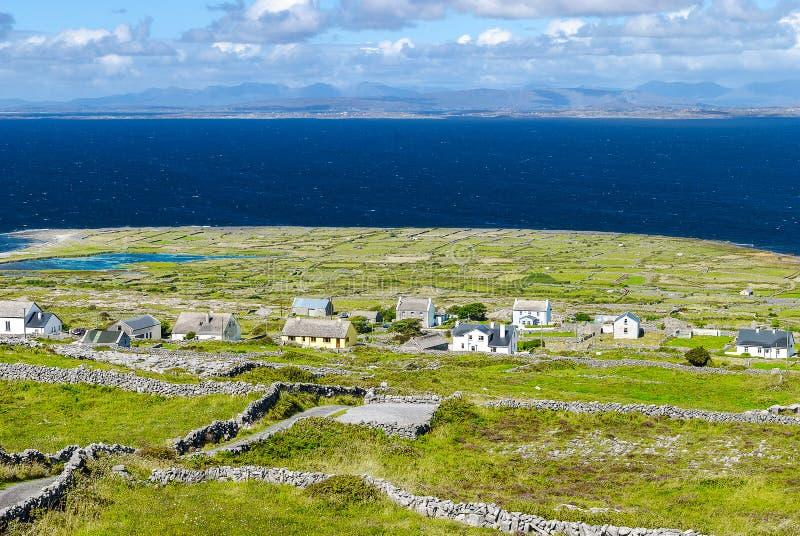 Settlement on Inishmore, Ireland royalty free stock photography