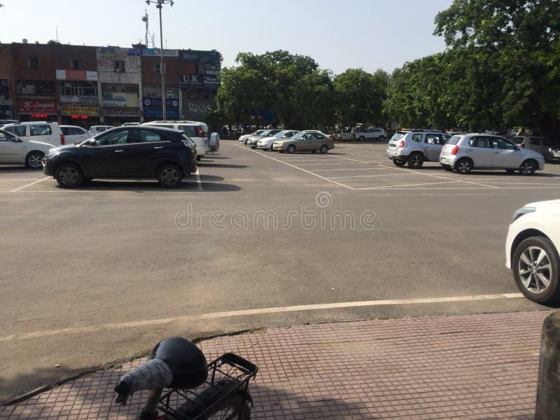 Settore 35 di Chandigarh fotografia stock