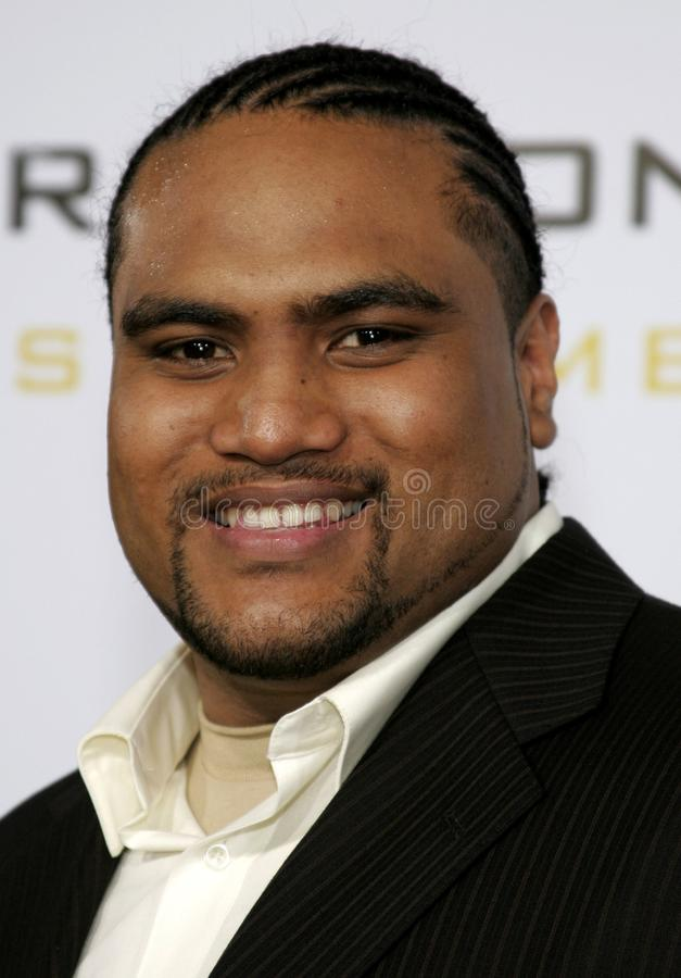 Setu Taase. At the Los Angeles premiere of `Gridiron Gang` held at the Grauman`s Chinese Theatre in Hollywood, California United States on September 5, 2006 stock photos