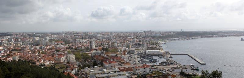 Setubal, Portugal. Aerial view at Setubal, Portugal royalty free stock photography