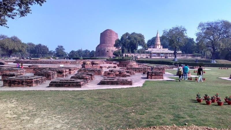Sarnath setup. royalty free stock images