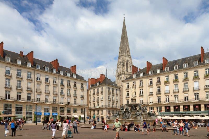 Setzen Sie Royale de Nantes stockfoto