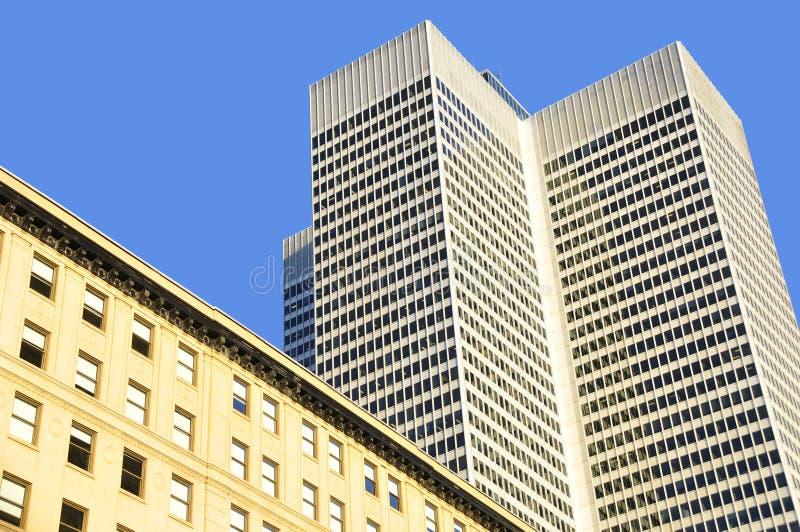 Setzen Sie ville Marie-Gebäude stockbilder