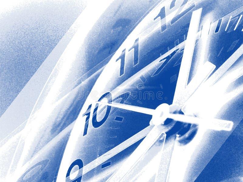 Setzen Sie Zeit Hintergrundes 4 fest lizenzfreie abbildung