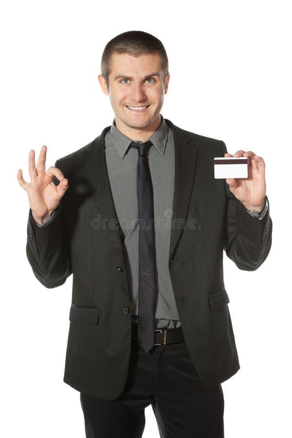Seu cartão de crédito foto de stock royalty free