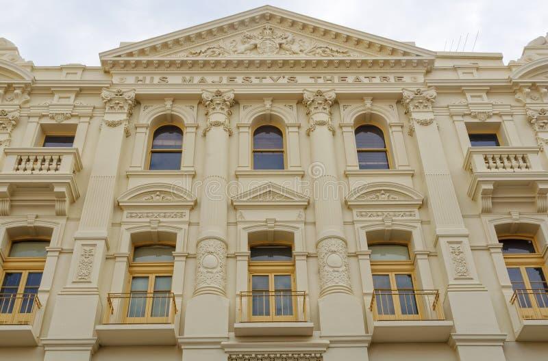 Seu teatro do ` s da majestade - Perth fotografia de stock