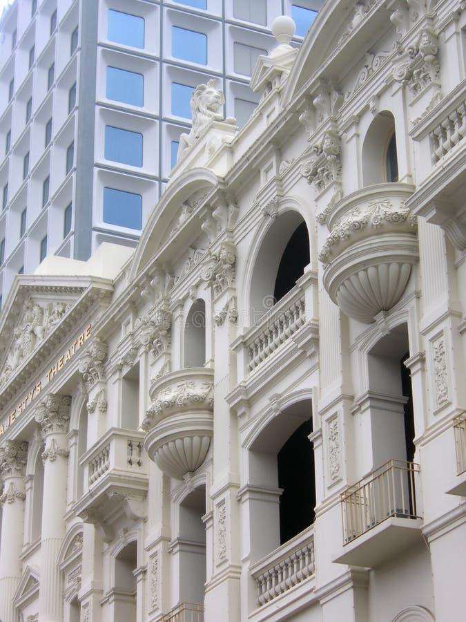 Seu teatro Perth de majestade, Austrália Ocidental imagem de stock