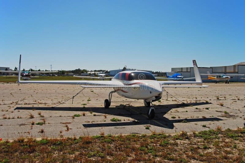 Seul avion expérimental photographie stock libre de droits