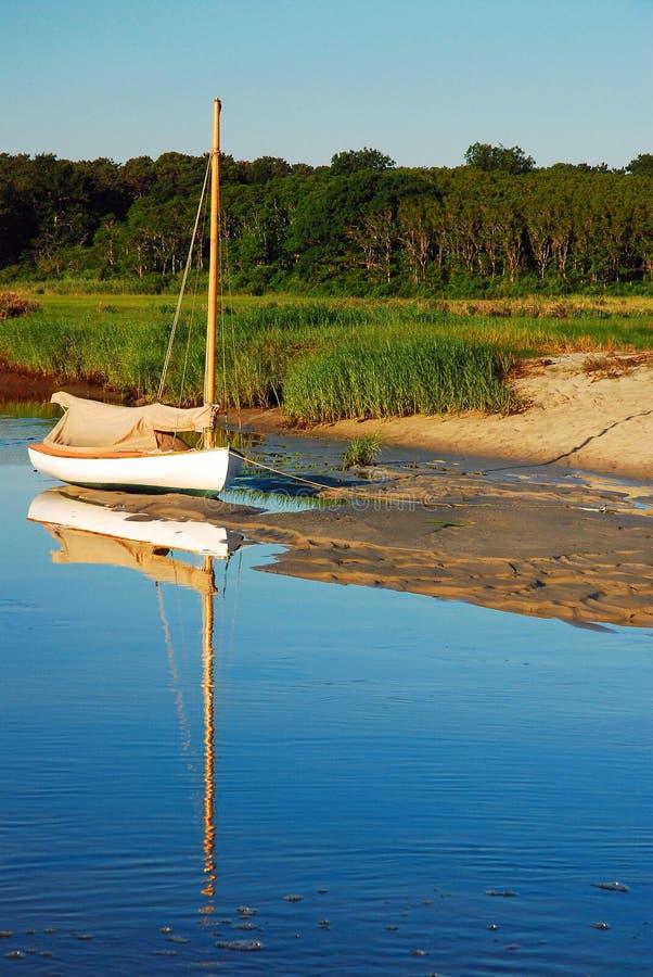 Seul bateau photos stock