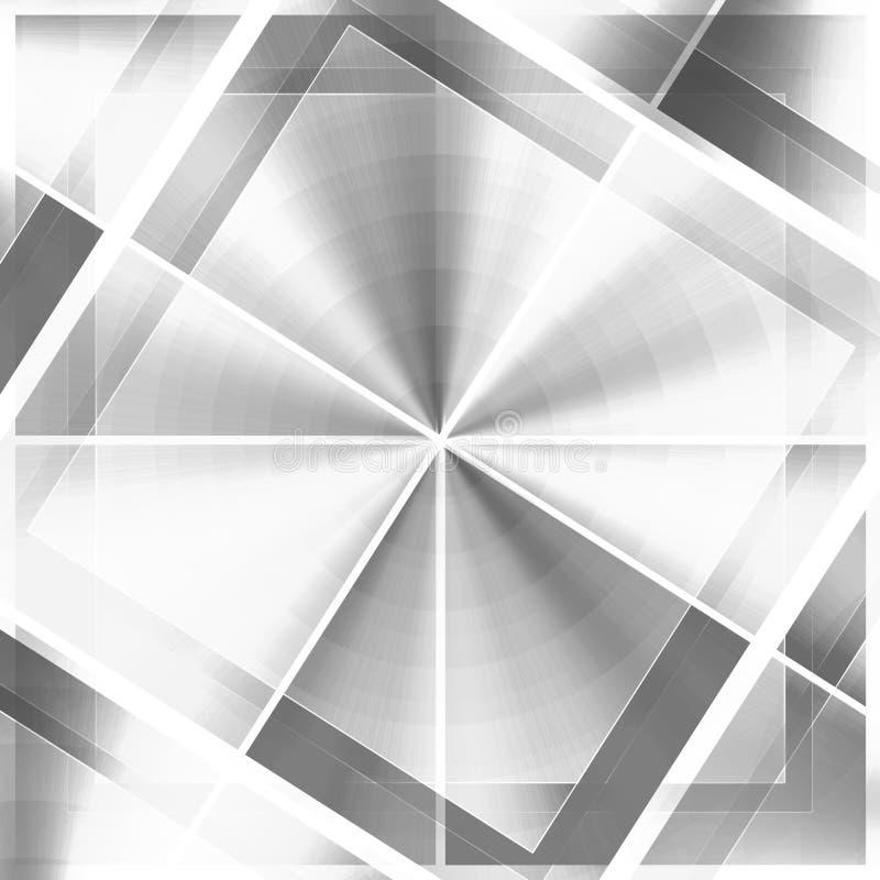 Seul blanc de noir de configurations illustration libre de droits