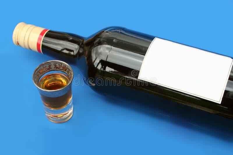 Seul boire photographie stock libre de droits