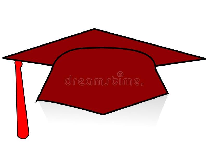 Seul degré illustration stock