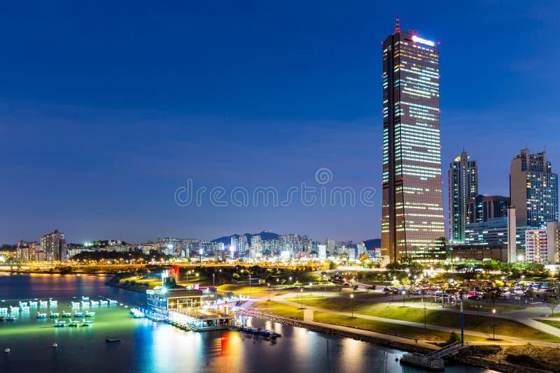 Seul noc zdjęcie royalty free