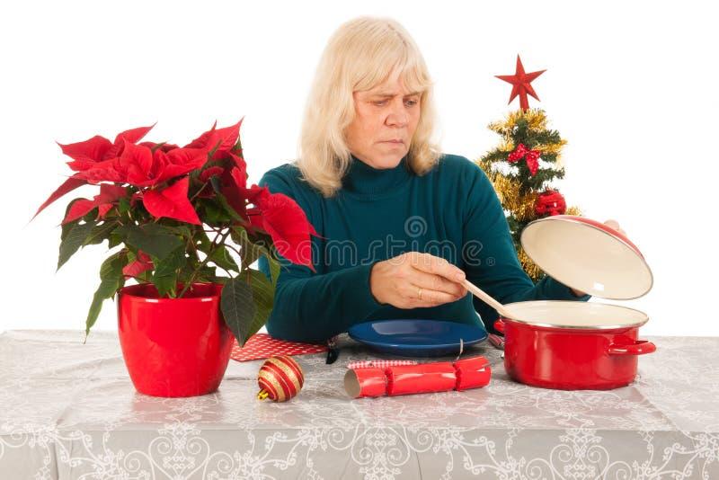 Seulement avec Noël photos stock