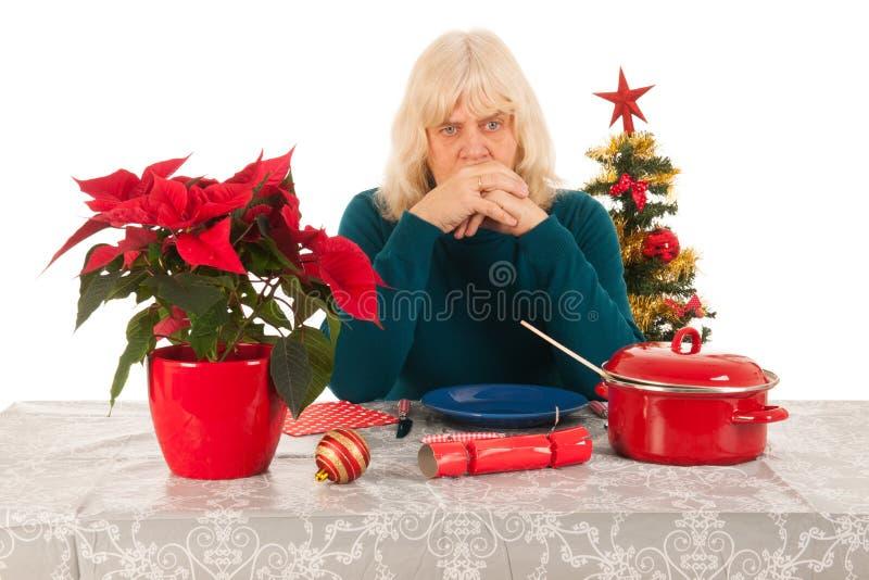 Seulement avec Noël image libre de droits