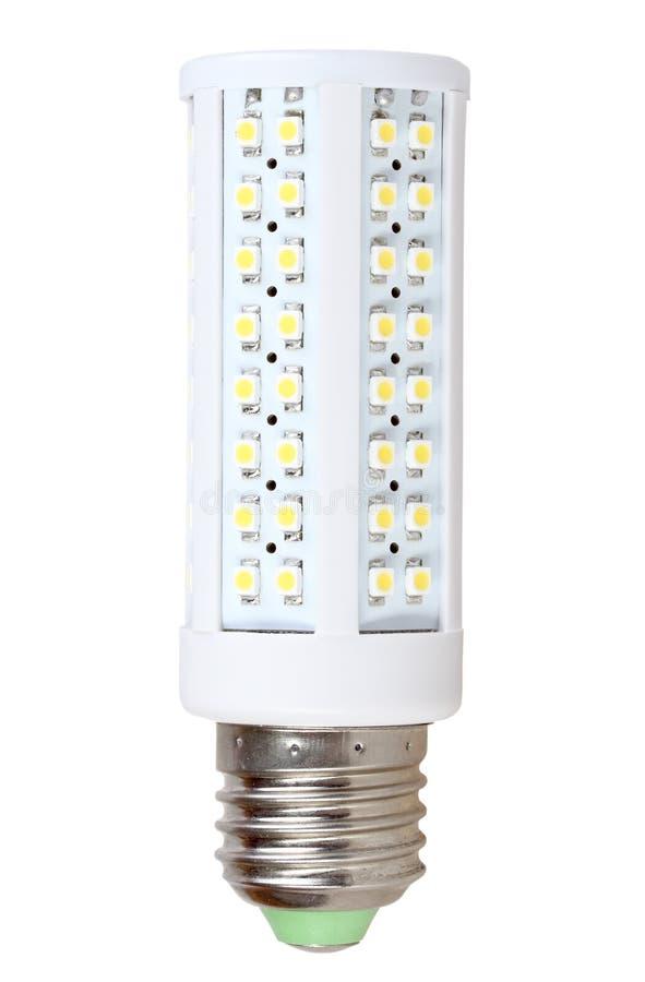 Seulement Mener-lampe économiseuse d'énergie photographie stock libre de droits