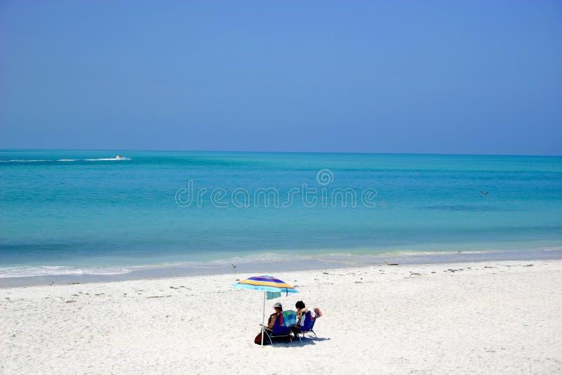 Seulement sur la plage images libres de droits