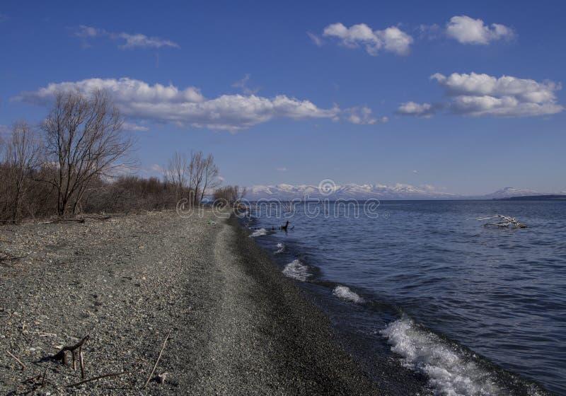 Sevan湖 免版税库存图片