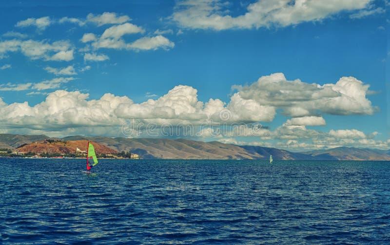 Sevan湖 免版税图库摄影