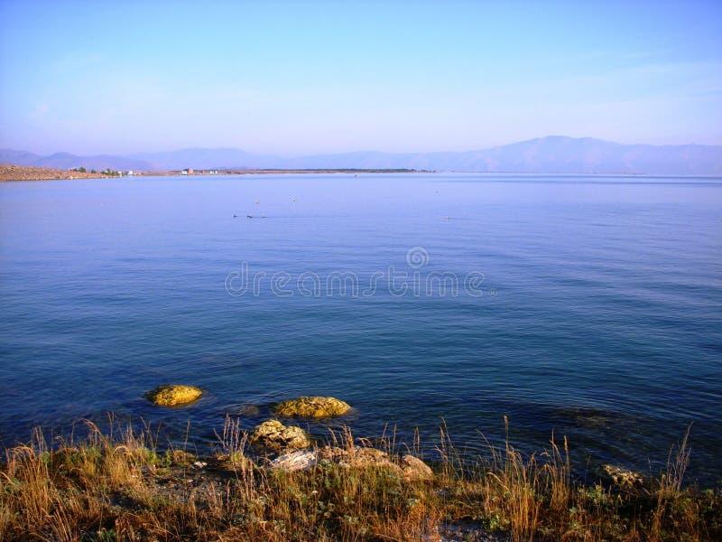 sevan armenia lake royaltyfri fotografi