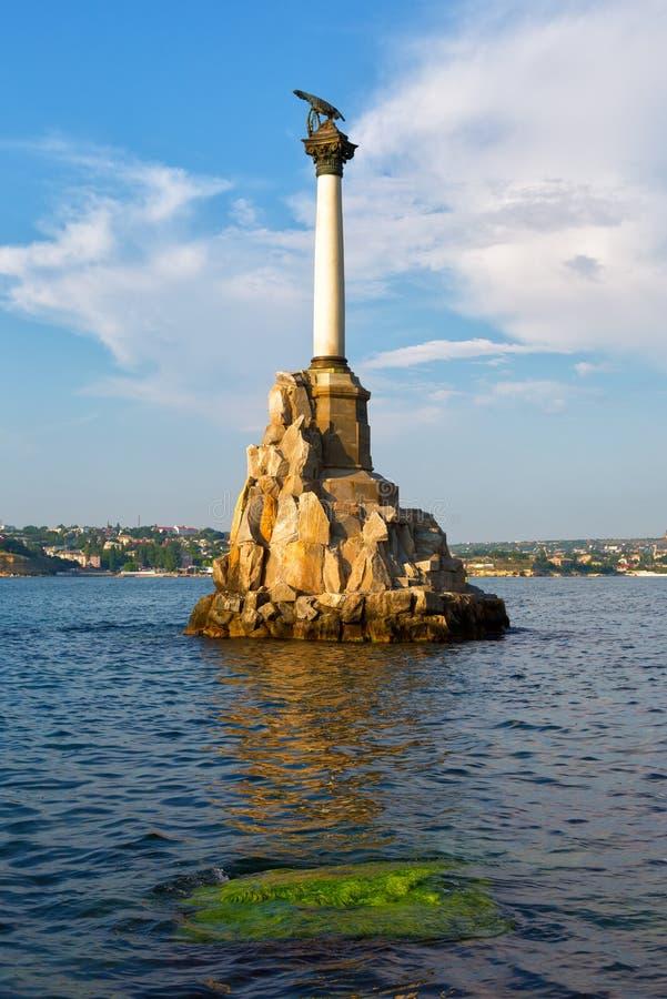 Sevastopol Crimea arkivfoton