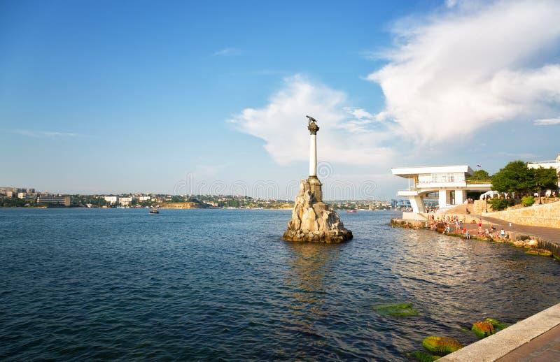 Sevastopol Krimet royaltyfri foto