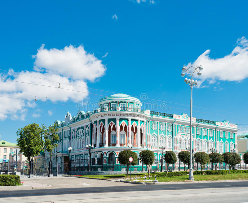 Sevastyanovs hus royaltyfri foto
