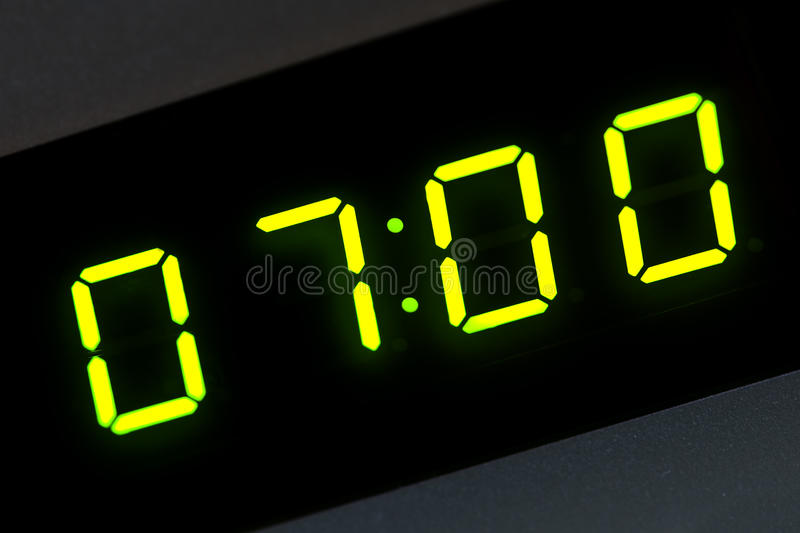 Download Seven stock image. Image of deadline, waking, sleeping - 11524525