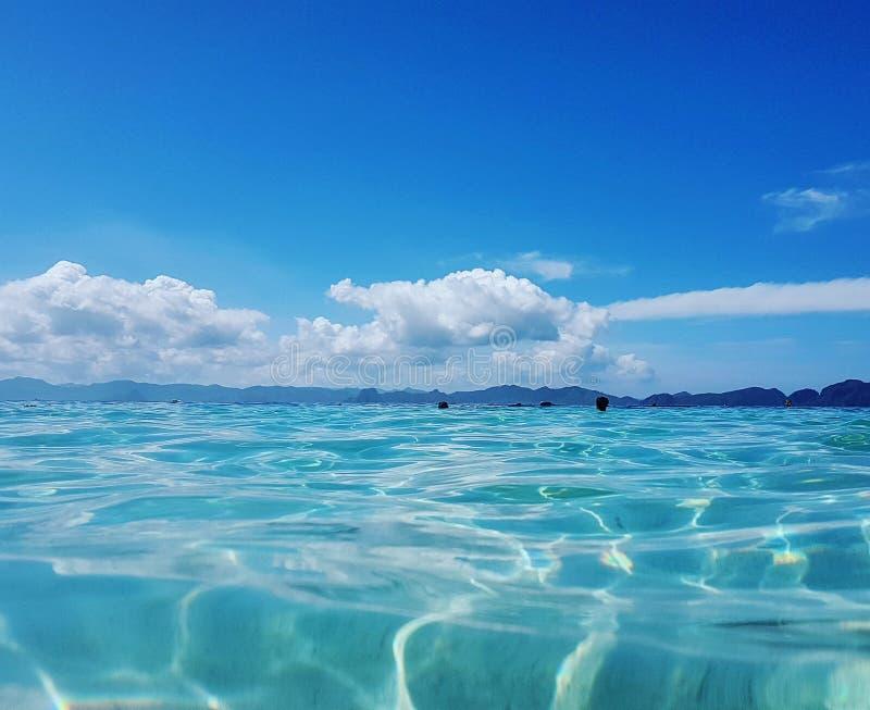 Seven Commandos Beach. In El Nido, Palawan, Philippines royalty free stock images