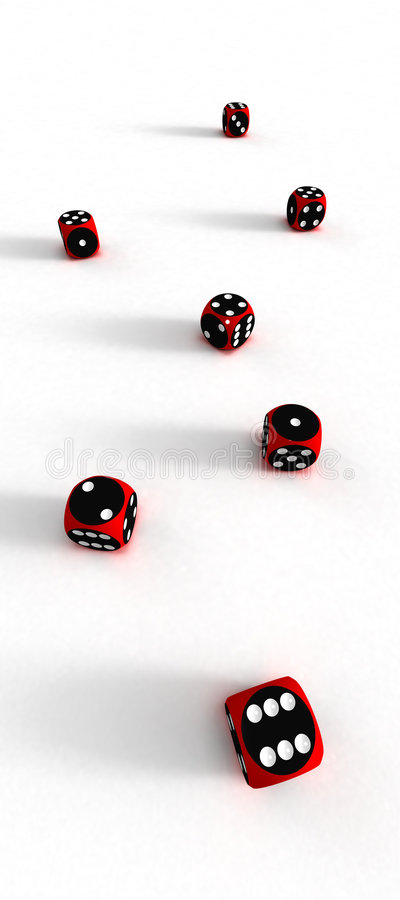Download Seven Dices (3D) Stock Photos - Image: 1630573