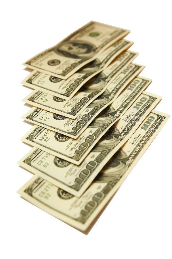 Seven-hundred dólares americanos imagem de stock royalty free