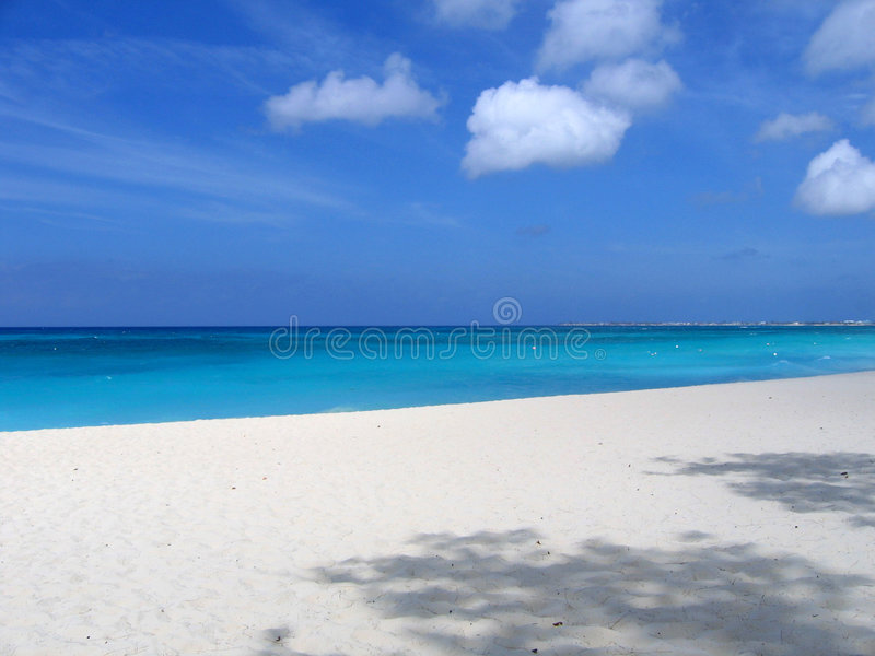Seven Mile Beach royalty free stock photos